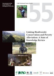 Linking Biodiversity Conservation and Poverty Alleviation: A State of ...