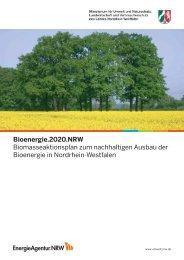 Bioenergie.2020.NRW Biomasseaktionsplan zum nachhaltigen ...