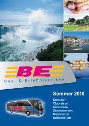 Sommer 2010 - BE Reisen