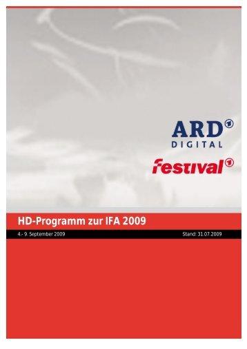 Eins Festival Programm