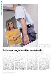 Basiserwartungen von Handwerkskunden - Ewald W. Schneider