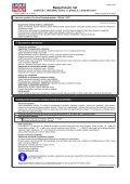 Bezpečnostní list - Gama Kladno - Page 3