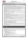 Bezpečnostní list - Gama Kladno - Page 7