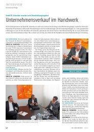 INTErvIEw - Ewald W. Schneider und Partner