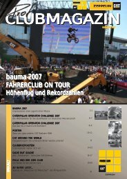 Clubmagazin Sommer 2007