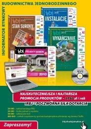 Zapraszamy! - Baza firm i produktów - Informator Budownictwa