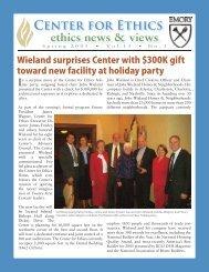 Servant Leadership Summer - Emory Center for Ethics - Emory ...
