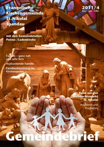Gemeindebrief 2011 Nr. 4 - St. Nikolai Spandau Homepage