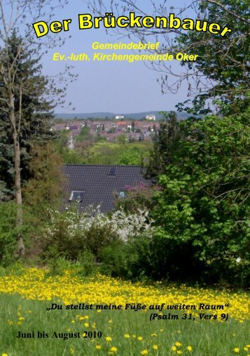 Gemeindebrief 2010-03 - Kirchengemeinde Oker