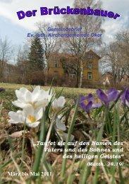 Gemeindebrief 2011-02 - Kirchengemeinde Oker