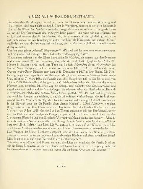 Die Grünewald-Legende, kritische Beiträge zur Grünewaldforschung