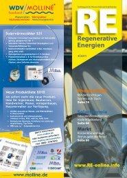 RE Regenerative Energien