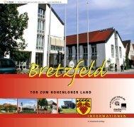 INFORMATIONEN TOR ZUM HOHENLOHER LAND - Bretzfeld