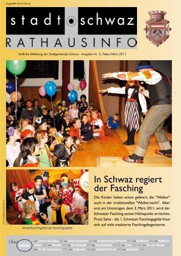 Rathausinfo Nr. 2 2011 - Schwaz