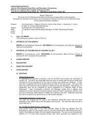 Capital Regional District Juan de Fuca Electoral Area Parks and ...