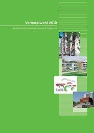 Vertreterwahl 2010 - EWG Dresden