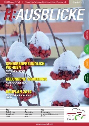 Hausblicke 3/2011 - EWG Dresden