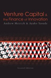 Venture Capital and the Finance of Innovation, Second Edition