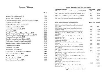 Beverage lists and alcoholic beverages - ppt video online download