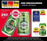 JUNI ERBJUDANDEN - Bordershop