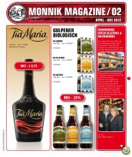 MONNIK MAGAZINE / 02 - De Monnik Dranken