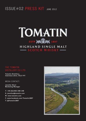 ISSUE#02 PRESS KIT JUNE 2012 - Tomatin