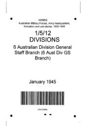 AWM52, 1/5/12/59 - Australian War Memorial