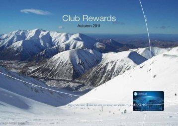 Club Rewards - Diners Club New Zealand