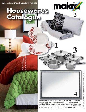 Housewares Catalogue - Makro