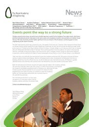 Winter Newsletter 2007 - Royal Academy of Engineering