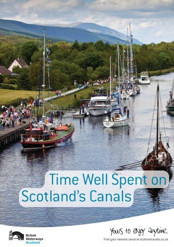 Time Well Spent on Scotland's Canals - Scottish Canals