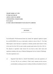 Trade Mark Appeal Decision 0/304/98