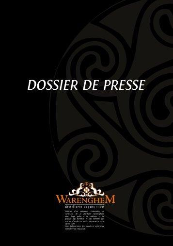 DOSSIER DE PRESSE - Distillerie Warenghem