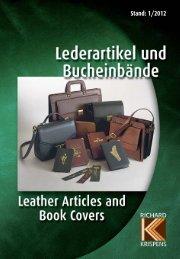 Katalog - Stand 1/2012 - Richard Krispens Lederartikel und ...