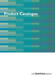 Product Catalogue - The Laminex Group