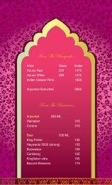 Jalsa bar menu mail