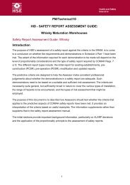 HID - Safety Report Assessment Guide: Whisky - HSE