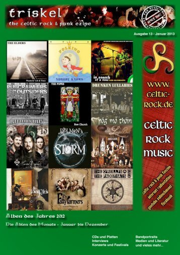 Alben des Jahres 2012 - celtic rock music