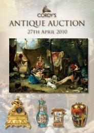 ANTIQUE AUCTION - cordy's
