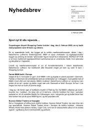 Læs nyhedsbrevet i PDF - Københavns Lufthavne