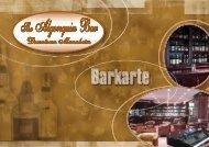 Download Bar- und Coktailkarte als PDF - Algonquinbar