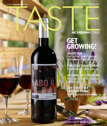 GET GROWING! - BC Liquor Stores