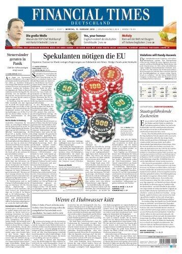 Die große Welle - Financial Times Deutschland