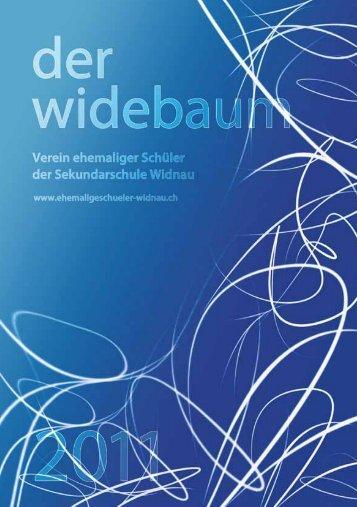 Widebaum 2011 - Verein ehemaliger Sek-Schüler Widnau