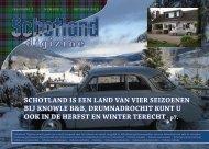 Schotland iS een land van vier Seizoenen Bij Knowle B&B ...
