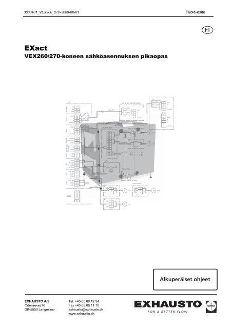 2.VEX-koneen asentaminen - exhausto.de