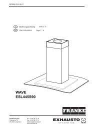WAVE ESL445S90 - exhausto.de
