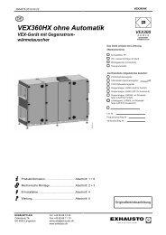 VEX360HX ohne Automatik VEX-Gerät mit Gegenstrom - exhausto.de