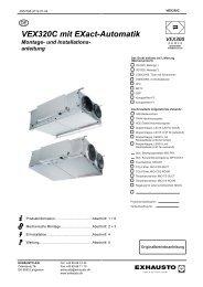 VEX320C mit EXact-Automatik Montage- und ... - exhausto.de