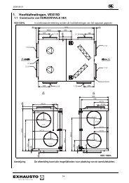 1. Hoofdafmetingen, VEX150 - exhausto.de